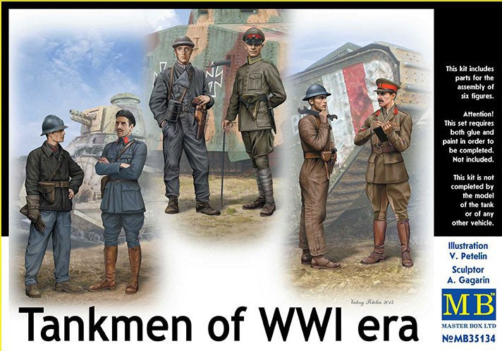 Tankmen of WWI era - Hobby Sense