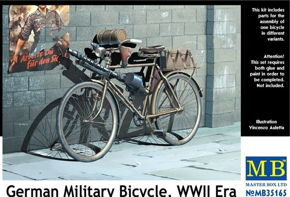 German military bicycle, WW II era - Hobby Sense