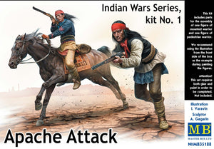 Indian Wars Series, kit No.1. Apache Attack