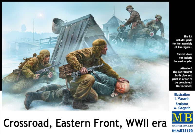 Crossroad, Eastern Front, WWII era - Hobby Sense
