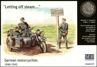 1/35 German motorcyclists, 1940-1943 - Hobby Sense