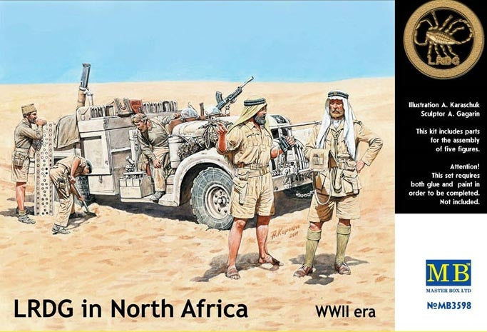 1/35 LRDG in North Africa - Hobby Sense