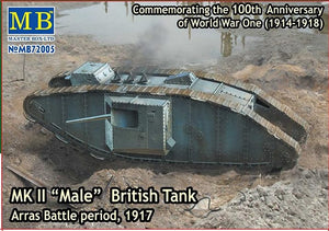 "Mk II ""Male"" British tank. Arras Battle period, 1917 - Hobby Sense"