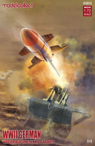 1/72 WWII German Wasserfall Guided Surface-to-Air Missile - Hobby Sense