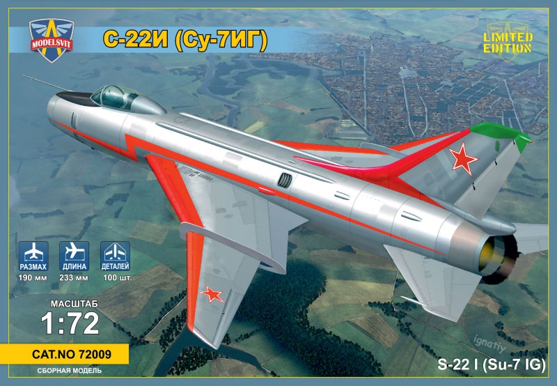 Sukhoi Su-22I (Su-7IG) Su-7BM with variable geometry wings - Hobby Sense