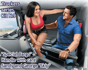 "Special Cargo, Handle with Care, Sandy and George ""Skip"", Truckers Series"