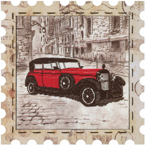 Car cross stitch kit