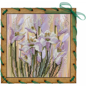 "Post Card Embroidery Kit ""Spring Breath"" - Hobby Sense"