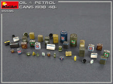 1/35 Oil and Petrol Cans 1930-40s - Hobby Sense