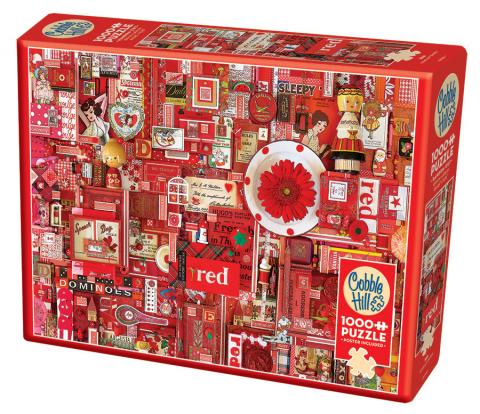 Red Puzzle - Hobby Sense