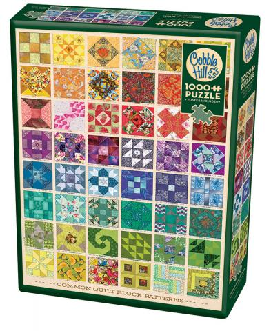 Common Quilt Blocks - Hobby Sense
