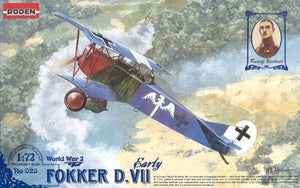 1/72 Fokker D.VII early - Hobby Sense