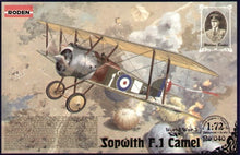 1/72 Sopwith F.1 Camel RAF fighter - Hobby Sense