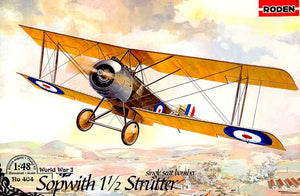 Sopwith 1 1/2 Strutter single-seat bomber - Hobby Sense