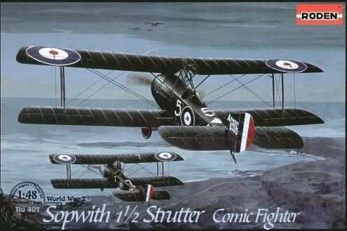 Sopwith 1½ Strutter comic fighter - Hobby Sense