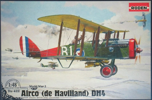 1/48 De Havilland DH4 Eagle - Hobby Sense