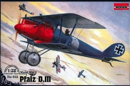 Pfalz D.III WWI German fighter - Hobby Sense