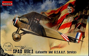 "SPAD VII c.1 ""Lafayette and USAAS"" fighter - Hobby Sense"