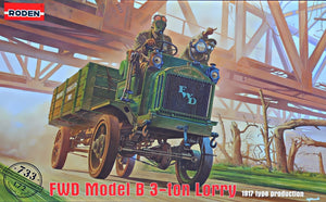 1/72 FWD Model B 3 ton Lorry - Hobby Sense