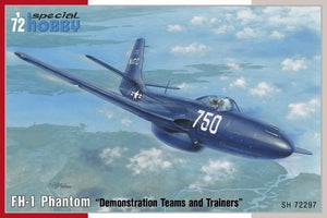 FH1 Phantom USN Demonstration Teams & Trainers Jet Aircraft *