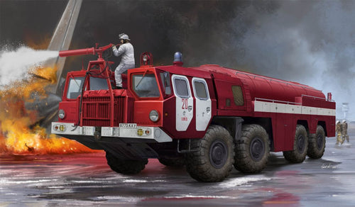 1/35 Airport Fire Fighting Vehicle AA-60 (MAZ-7310)