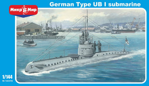 German Submarine Type UB I - Hobby Sense