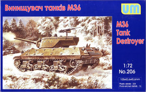M36 tank destroyer - Hobby Sense