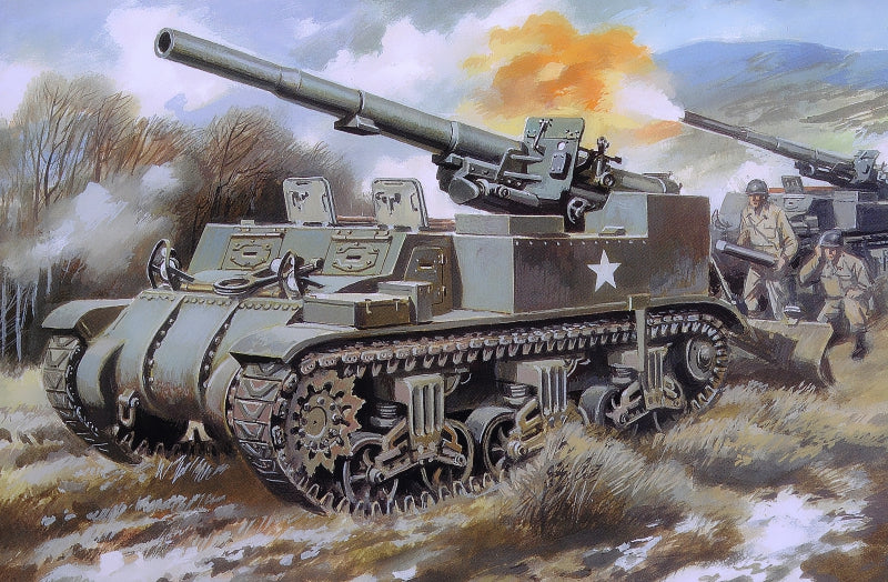 155mm M12 gun motor carriage