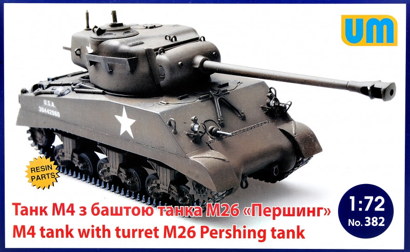 M4 tank with turret M26 Pershing tank - Hobby Sense
