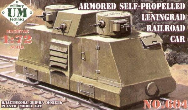 Armored self-propelled Leningrad - Hobby Sense