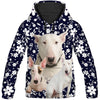 Bull Terrier Small Flower All Over Print Hoodie ZEUS11011