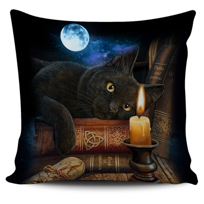 GAEA - Black Cat Magic Pillow Case 2103