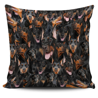 GAEA - Doberman Pinscher Perfect Pillow Case 2803