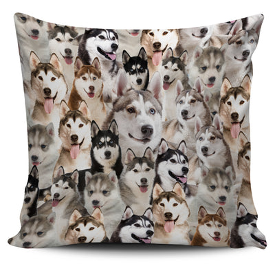 GAEA - Siberian Husky Perfect Pillow Case 2803