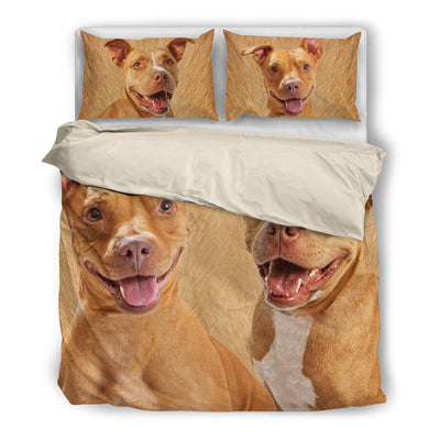 American Pit Bull Terrier Couple Bedding ZEUS161286