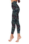 Flower Art 21 Low Rise Leggings ZEUS080131