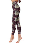 Siberian Husky Flower Pattern 1 Low Rise Leggings  ZEUS1001