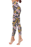 Flower Art 23 Low Rise Leggings ZEUS080123