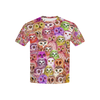 Owl Color All Over Print T-shirt for Kid Phoebe 228