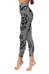 Flower Art 28 Low Rise Leggings ZEUS080128