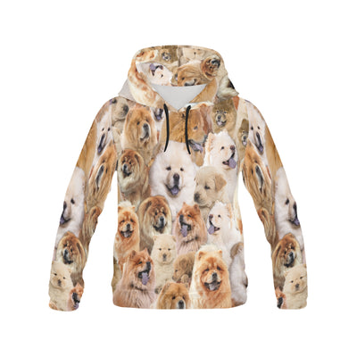 Chow Chow All Over Print Hoodie