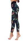 Flower Art 11 Low Rise Leggings ZEUS080111
