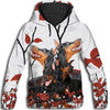 Doberman Pinscher Red Leaf All Over Print Hoodie ZEUS100118