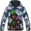Dachshund Hat 2 All Over Print Hoodie ZEUS100102