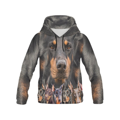 Doberman Pinscher Awesome All Over Print Hoodie