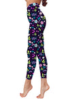 Flower Art 30 Low Rise Leggings ZEUS080130