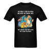 We don't stop playing Sunny Men's T-shirt (USA Size) (Model T02)