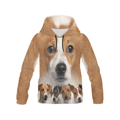 Jack Russell Terrier Awesome All Over Print Hoodie