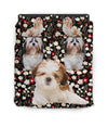 Shih Tzu Lili Flower Bedding ZEUS11013