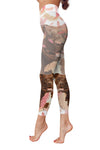 Pit Bull Flower Pattern 2 Low Rise Leggings ZEUS1701
